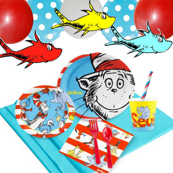 Dr. Seuss Tableware Set - 8 Guests