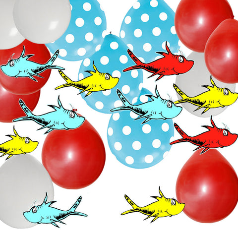 seuss party decorations