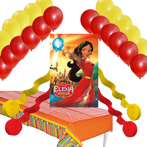 elena of avalor party decorations