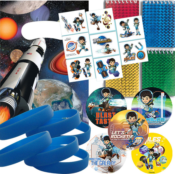 Miles from Tomorrowland Party favors sets - 12 guests