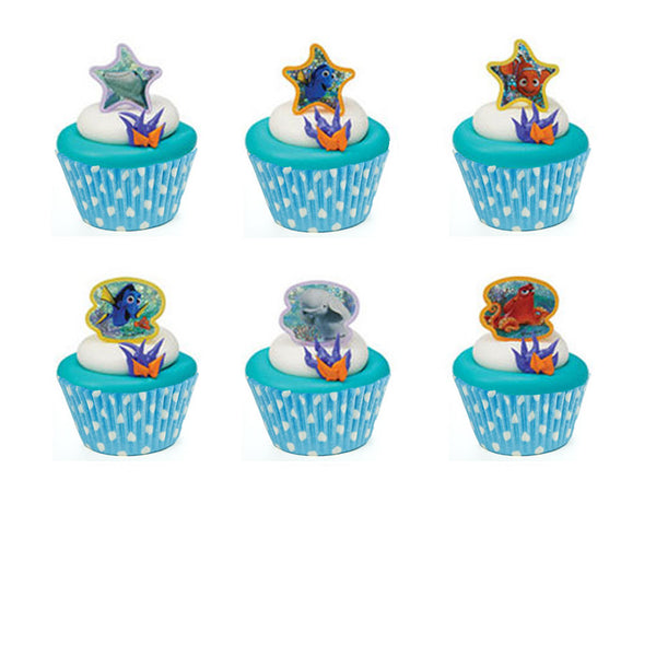 Finding Dory Cupcake Rings & Cups