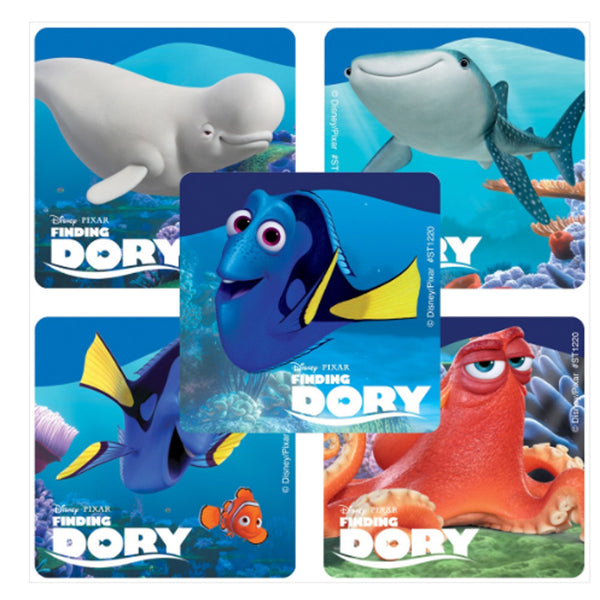 Finding dory stickers 75