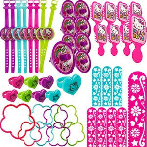 hello kitty 48 pc favor set