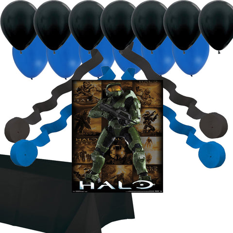 Halo game party decorations
