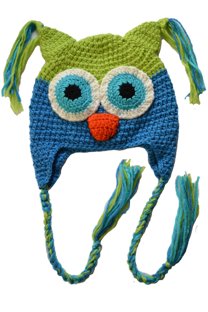 Cozy Knit Toddler Owl Hat – Party Majors 4e0077c8e4c