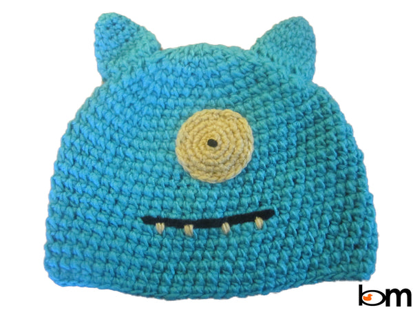 Cozy Knit Toddler Monster Beanie