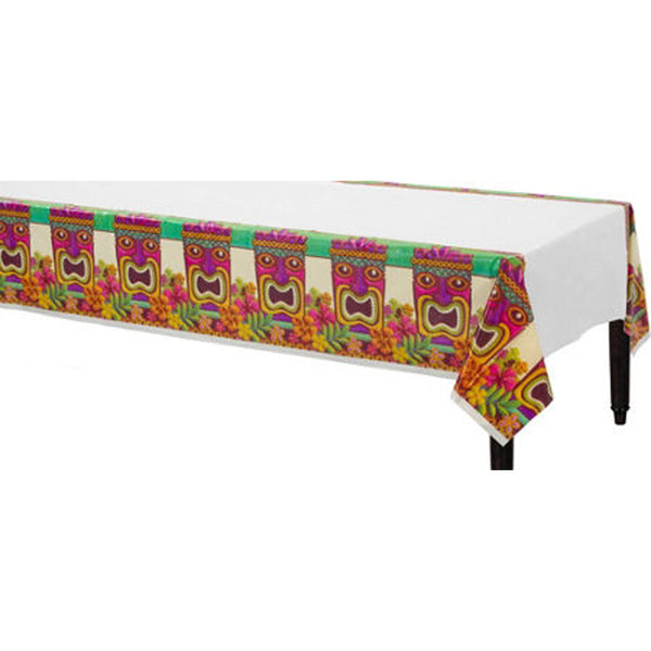 Hawaiian tiki tablecover