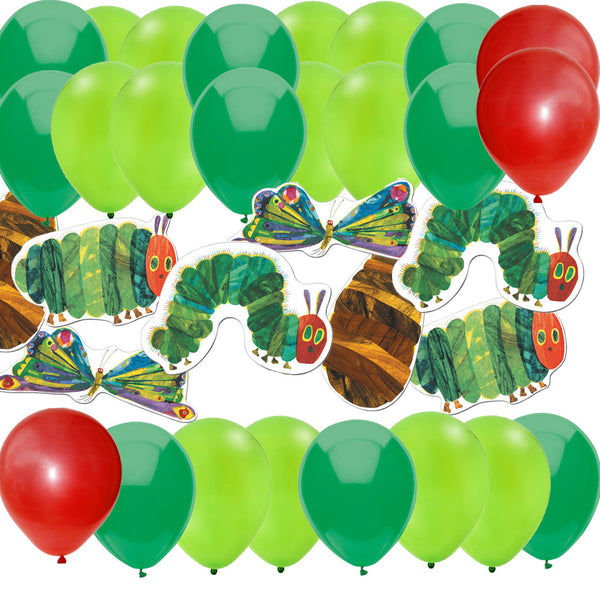 Hungry Caterpillar party decorations