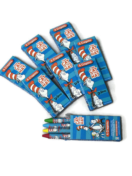 Dr Seuss Crayon Packs