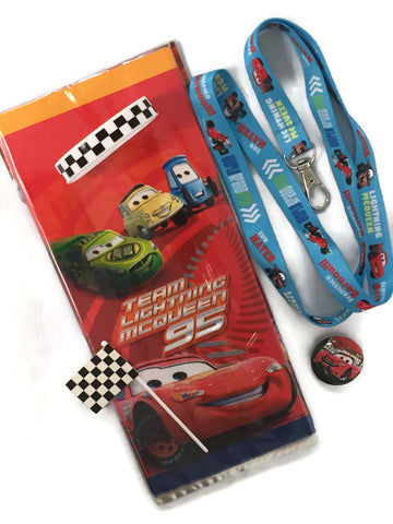 Disney Cars Lightning McQueen Party Favor Set - 12 Guests
