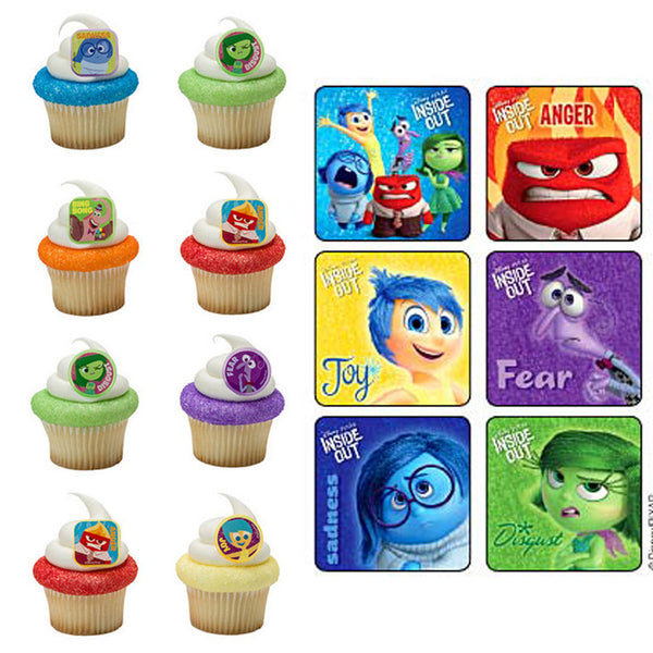 Inside Out Stickers & Rings