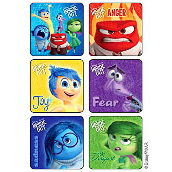 inside out movie stickers