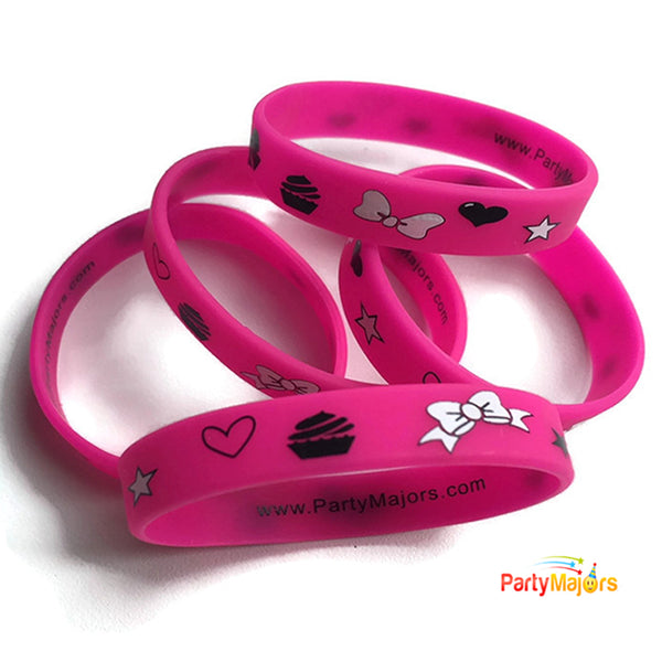 jojo siwa minnie mouse party favors  wristbands