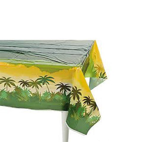 Jungle Safari disposable table cover