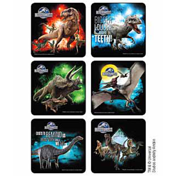 jurassic world stickers