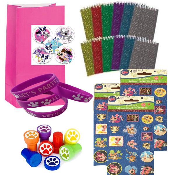 LPS Littlest Pet Shop Party Favor Set - 12 Guests