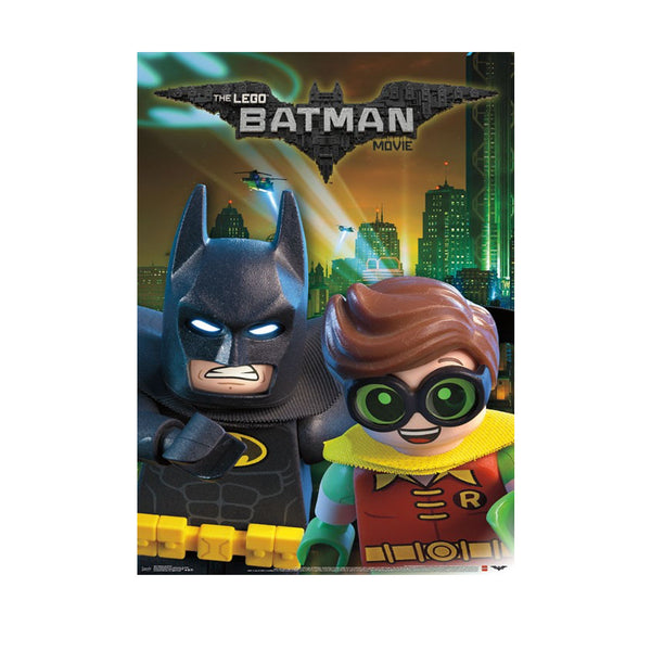 Lego Batman Movie Poster w Robin