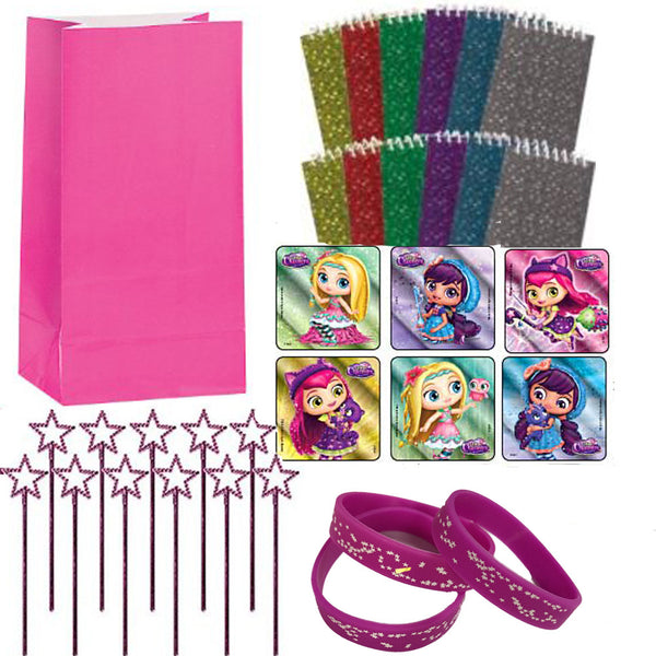 Little Charmers party favor set