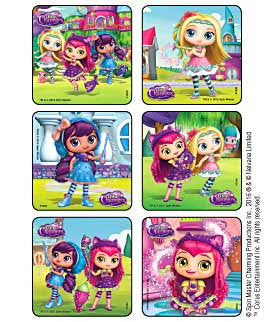 Little Charmers scene stickers