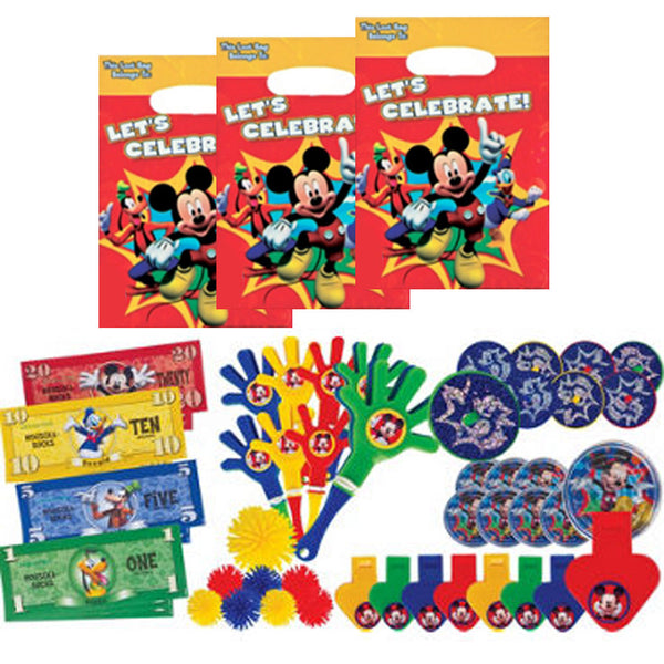 Mickey Mouse Clubhouse party favors & bags