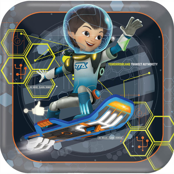 Miles from Tomorrowland Plates