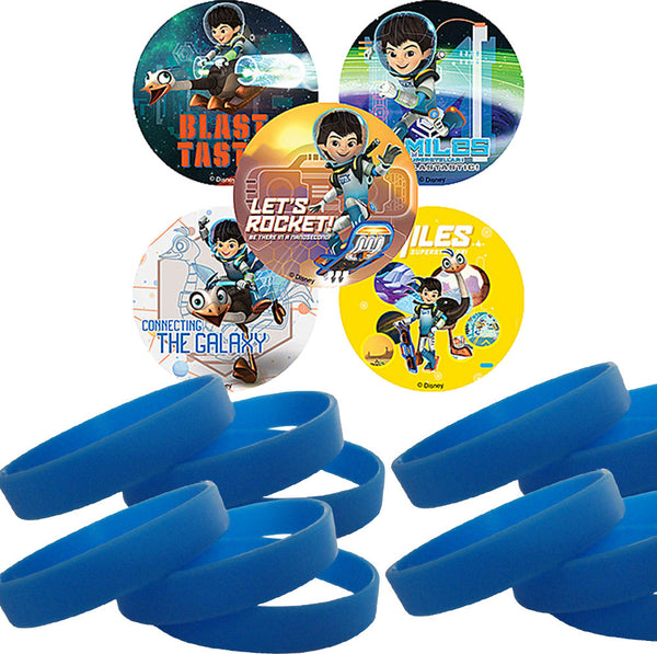 Miles from Tomorrowland Stickers Wristband Party Favors