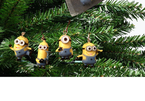 Minion Christmas Ornament Set