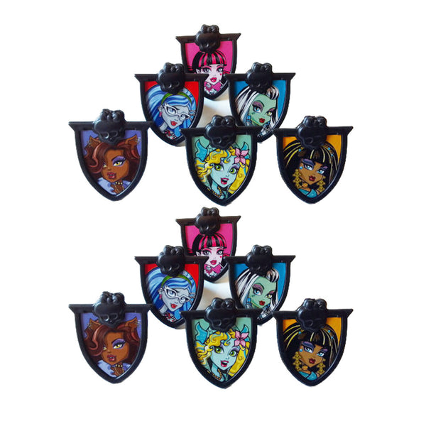 monster high cupcake rings