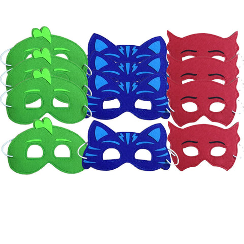 PJ mask party favor costumes