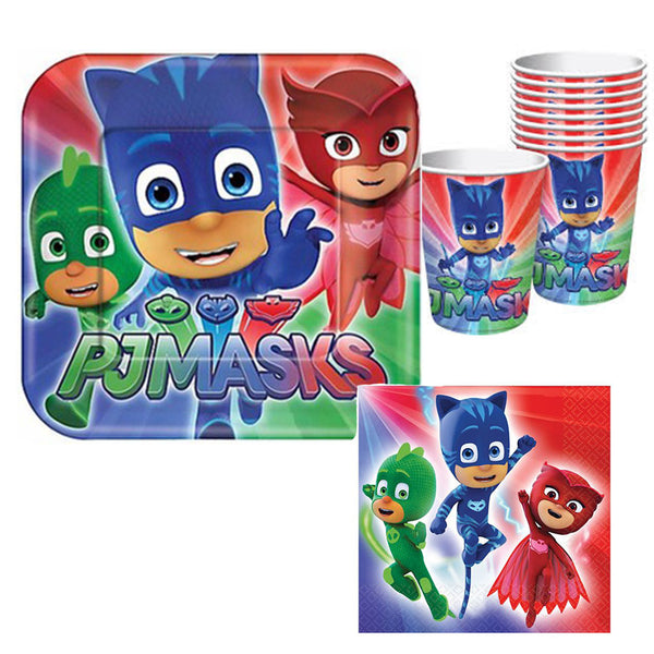 PJ Masks Tableware - 8 Guests