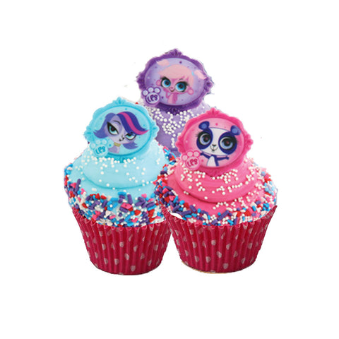 littlest pet shop cupcake rings