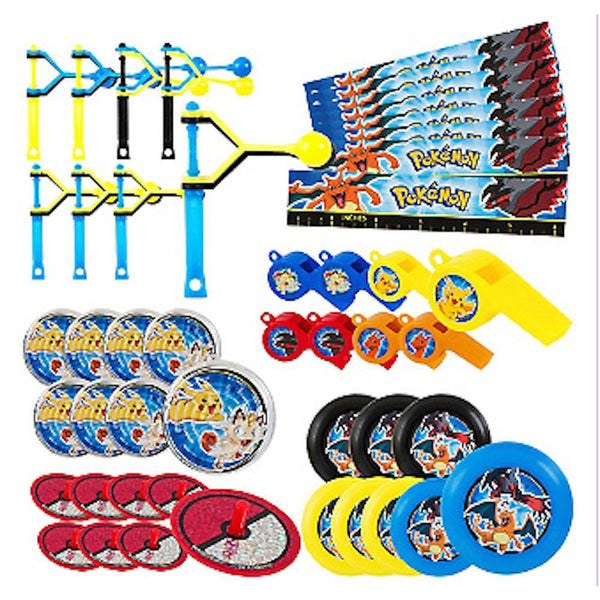 Pokemon Party favors value set