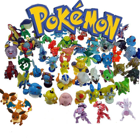 Pokemon mini figures