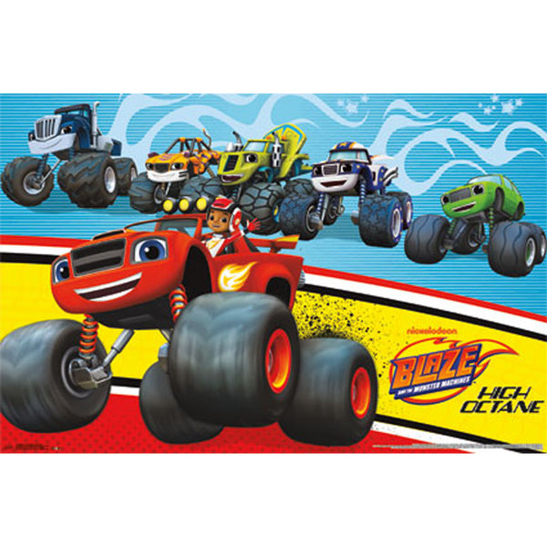 Blaze Monster Machines wall poster