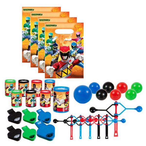 Power Rangers Dino Charge Party Favors