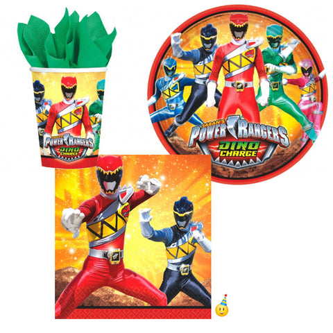 Power Rangers Dino Charged Tableware