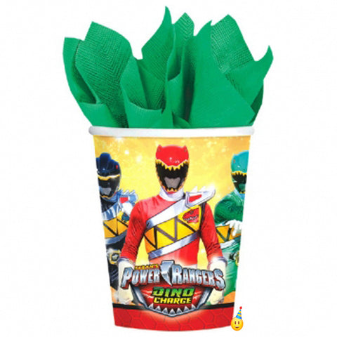 Power Rangers Dino Charged party cups