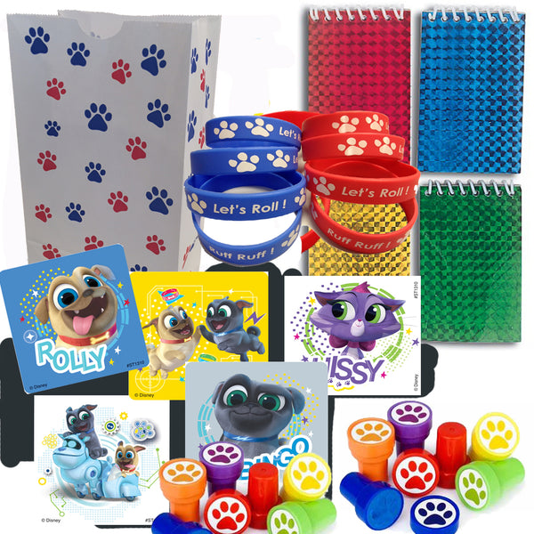 puppy pals party favor set