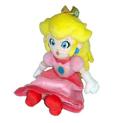 Super Mario Bros. 8-Inch Peach Plush