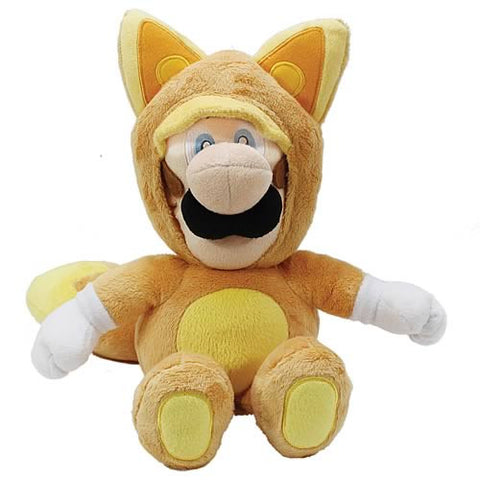 Super Mario Plush Series Kitsune Luigi 9-Inch Plush