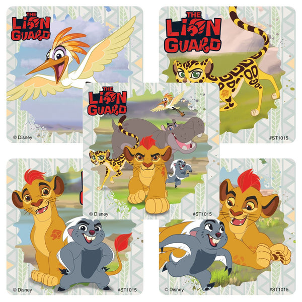 Sticker Pack - Lion Guard : Kion and Friends - 75 ct