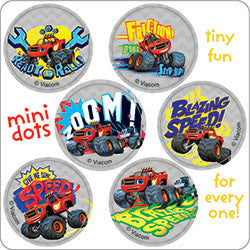 Blaze Monster Machines Mini Dot Stickers