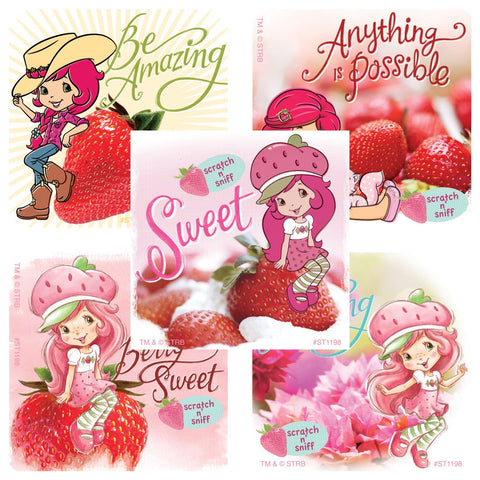 strawberry shortcake scratch n sniff stickers