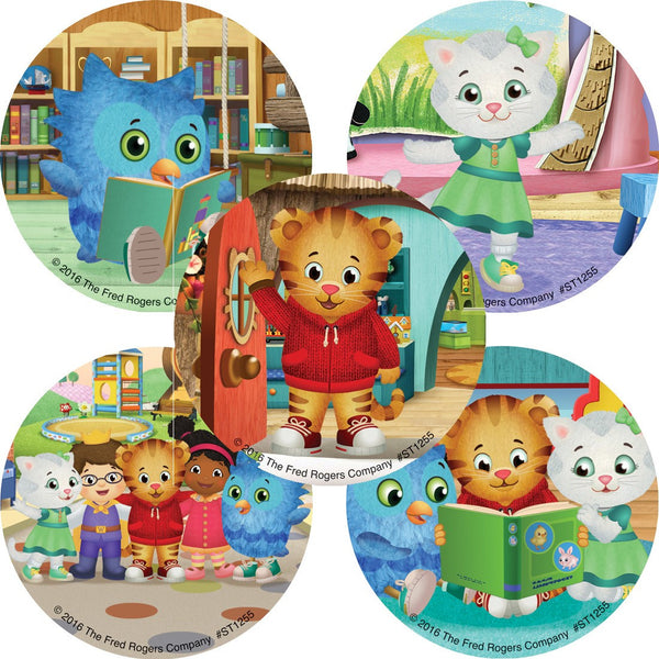 Daniel Tiger Stickers - Prizes and Favors - 100 per pack