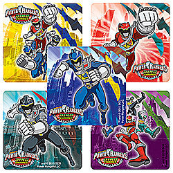 Power Rangers Dino Charged Stickers
