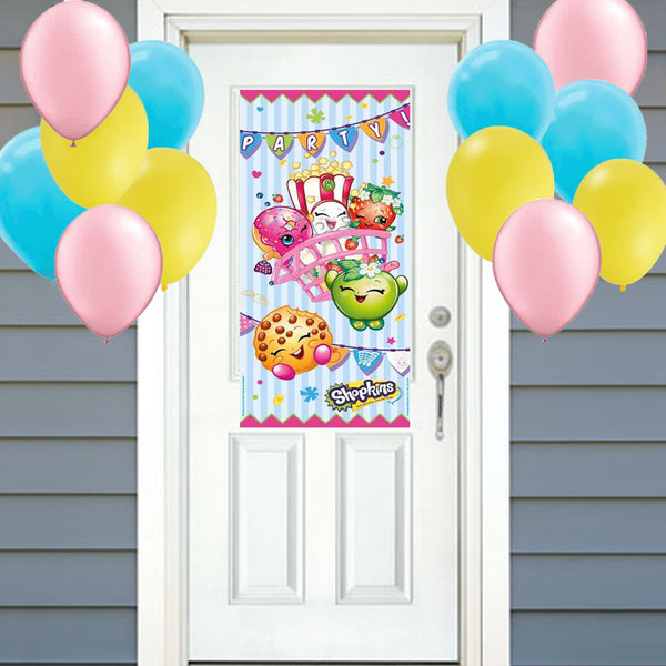 shopkins front door party decoration