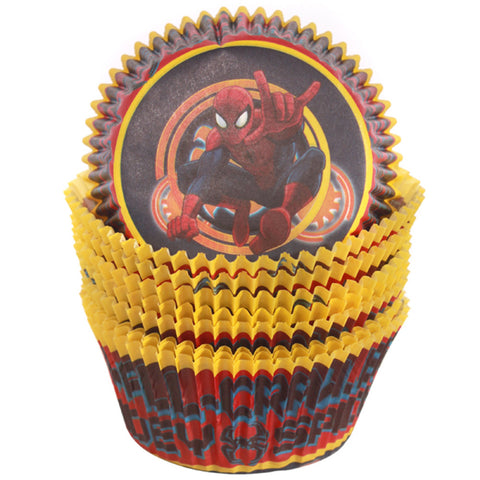 Spiderman Cupcake Cups