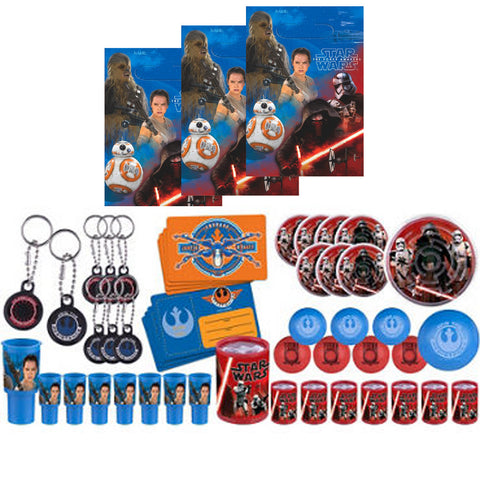 Star Wars Force Awakens Favor Set 56