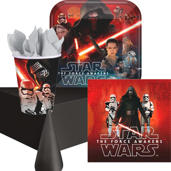 Star Wars Force Awakens Tableware & Tablecover