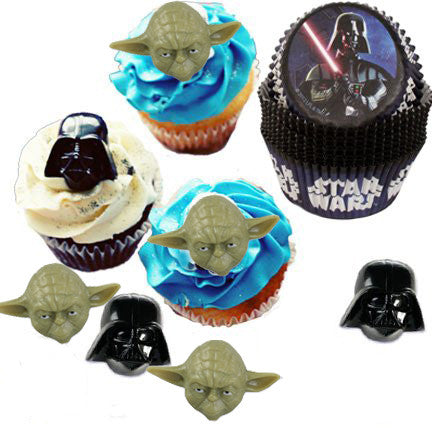 Star Wars Cupcake Rings and Cups